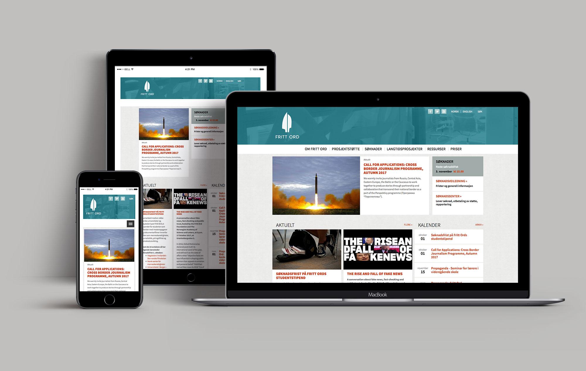 Frittord web presentation